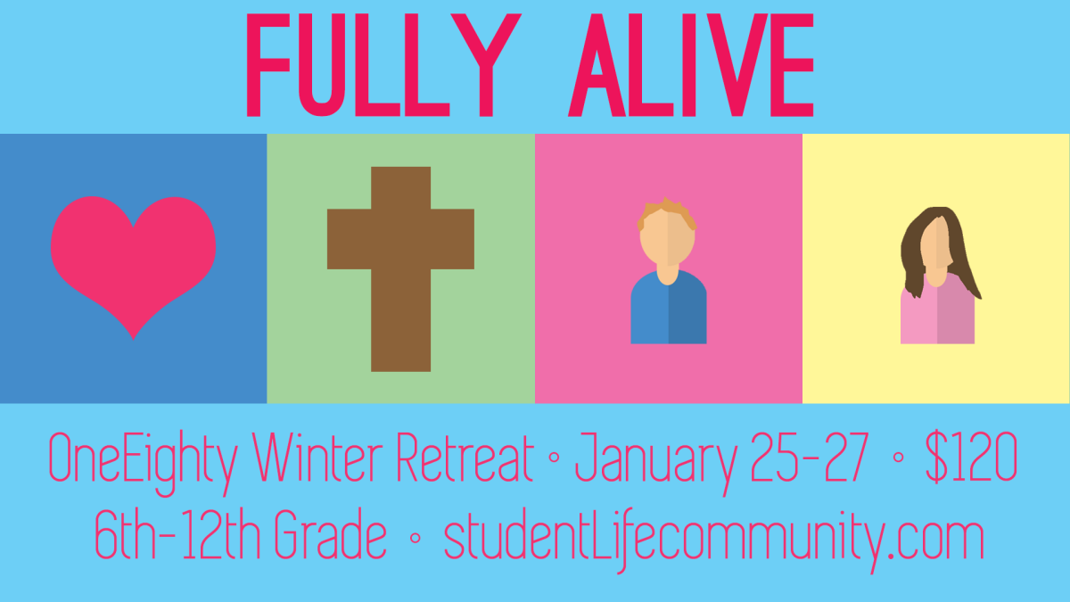 studentLife Winter Teen Retreat: OneEighty 2019