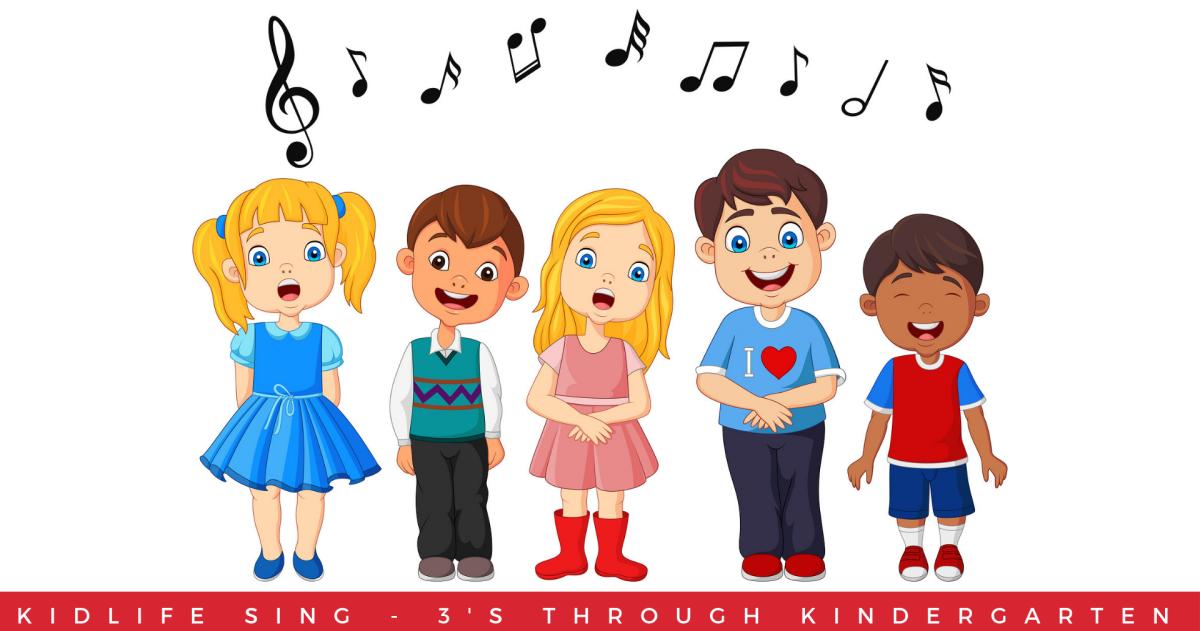 kidLife Sing in Worship