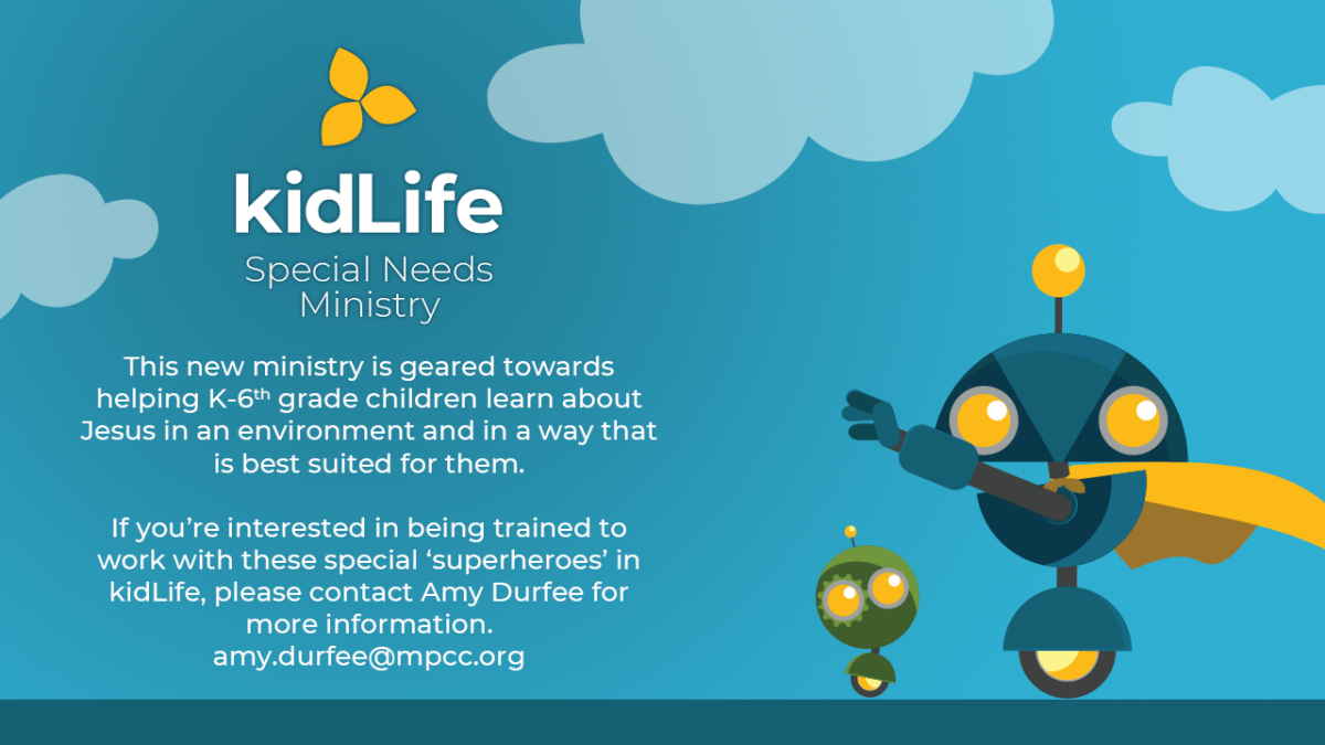 kidLife Special Needs Ministry
