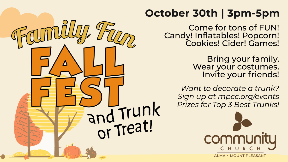 Trunk or Treat and Family Festival